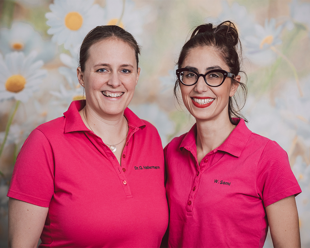 Frau Dr. Sami und Frau Dr. G. Hallermann