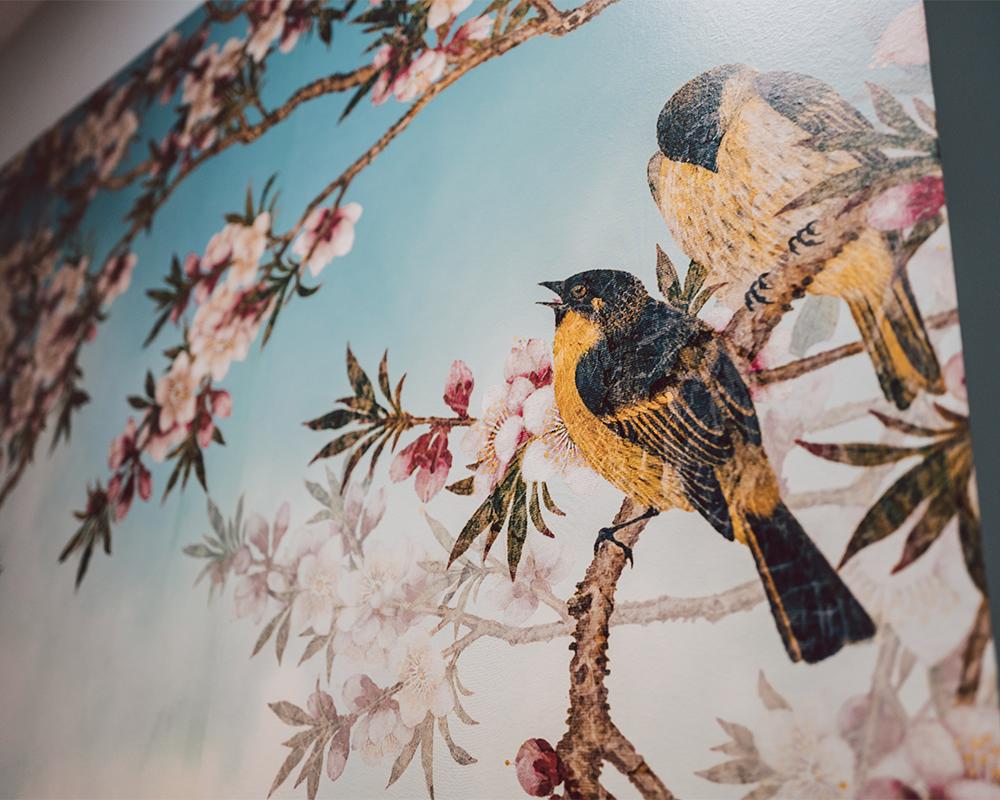 Vogelwand